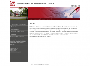 Administration and advice desk Slomp